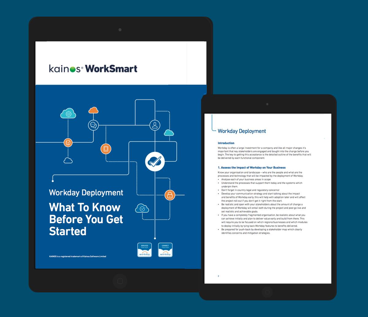 Workday Deployment Guide | Whitepapers | Kainos WorkSmart
