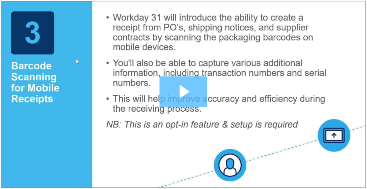 Workday Update 31