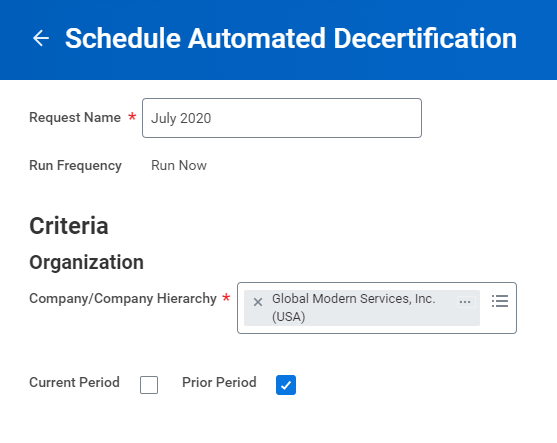Workday FINS 2020R2 Blog Decertification screenshot