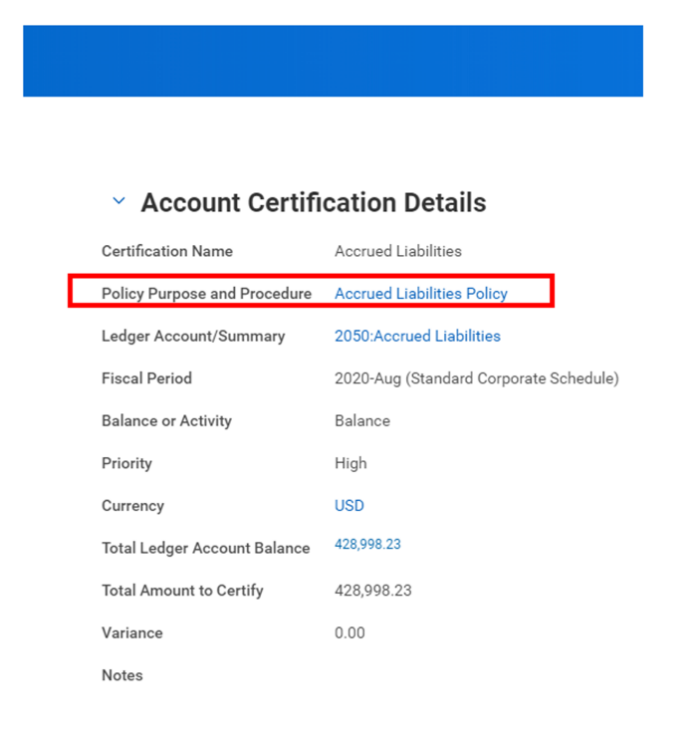 Workday FINS 2020R2 Blog Account Certification screenshot