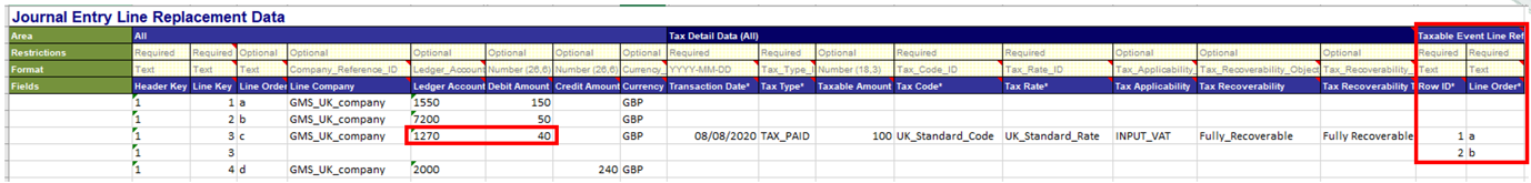 Workday FINS 2020R2 Blog Tax Reporting on Journal Lines screenshot 1